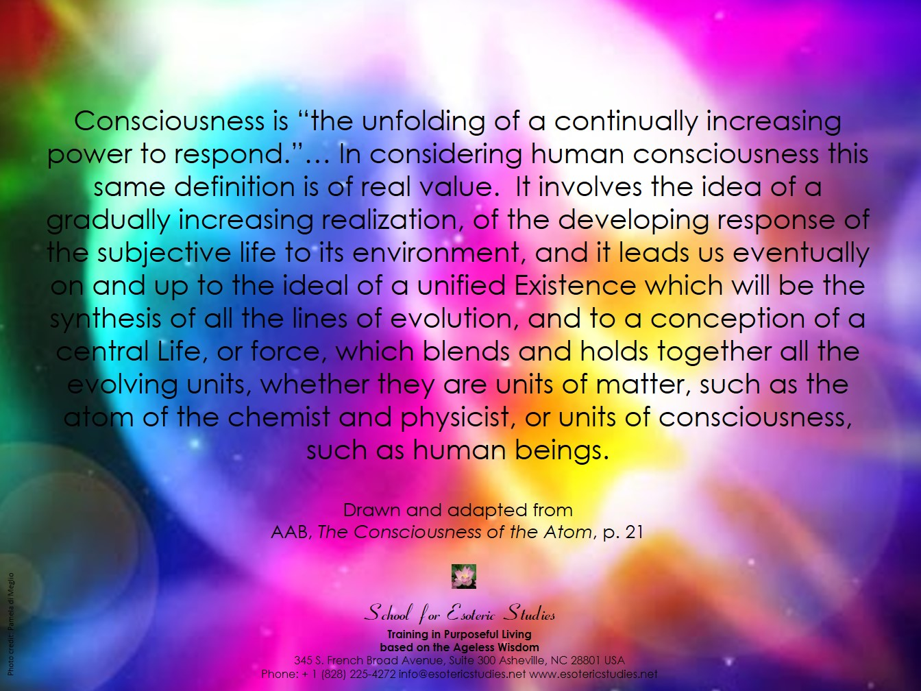 Quote about consciousness