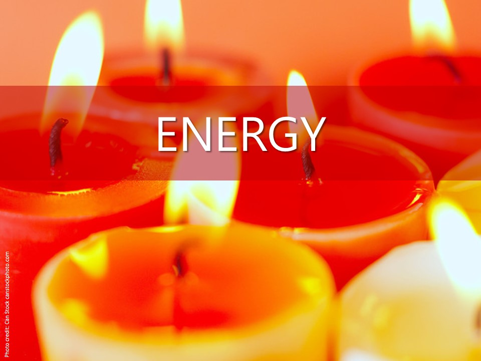 Image evoking energy