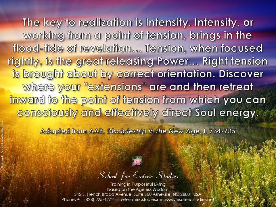 Quote about point of tension