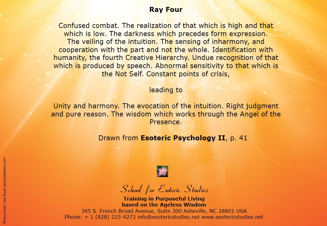 Ray 4: Harmony through Conflict