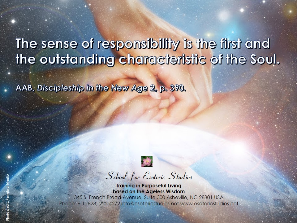 Quote about responsibility