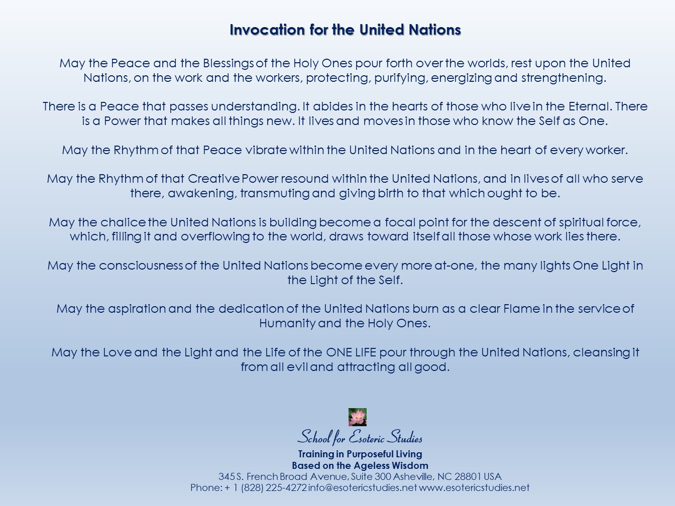 Quote about the United Nations